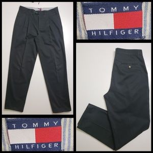 Tommy Hilfiger Men's Straight pleated pants sz 34
